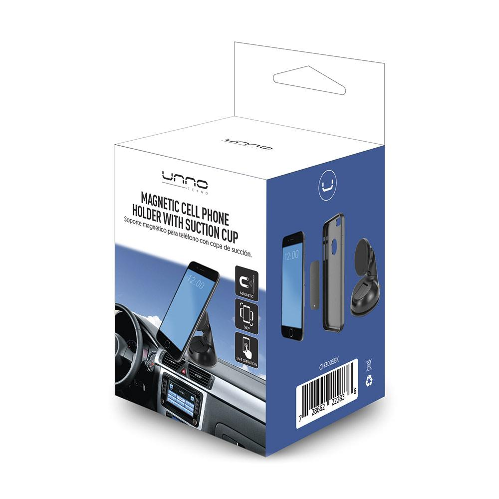 CH3005BK Car Cell Holder with Magnet for Dashboard Mockup WEB 1000x1000 1