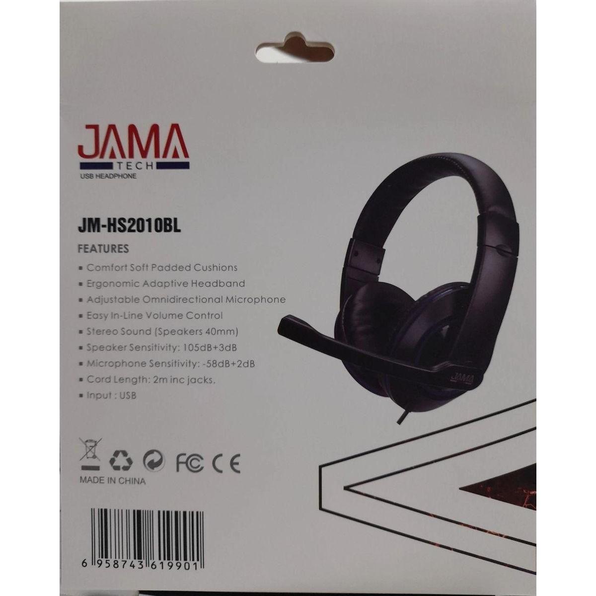 audifono multimedia usb c control de volumen jamatech 2 1 1