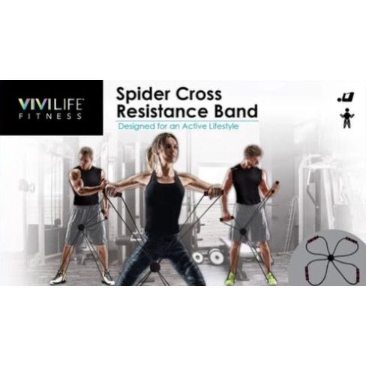 banda de resistencia cruzada de arana 1