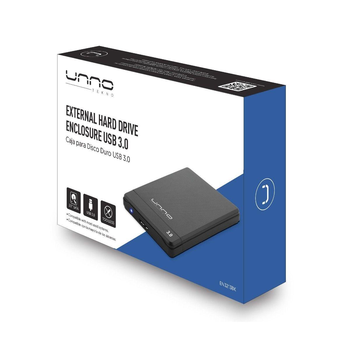 caja para disco duro externo usb 30 1