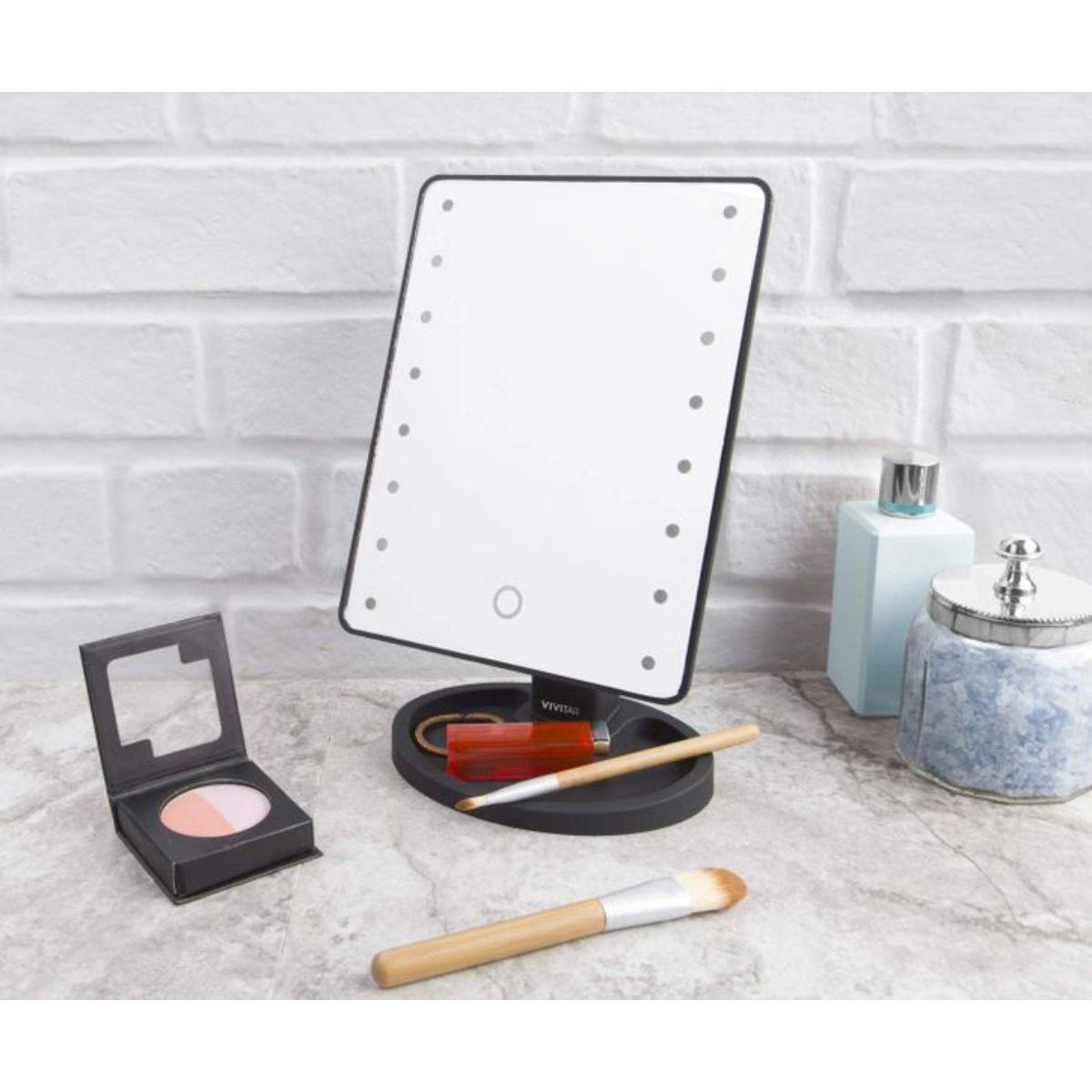 espejo de tocador con luz led 1