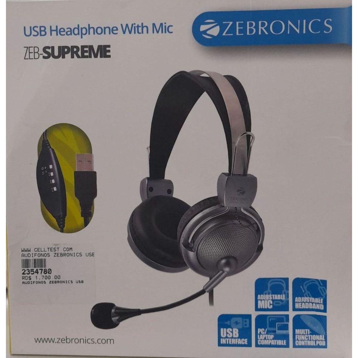 headset zeb supreme 1 1