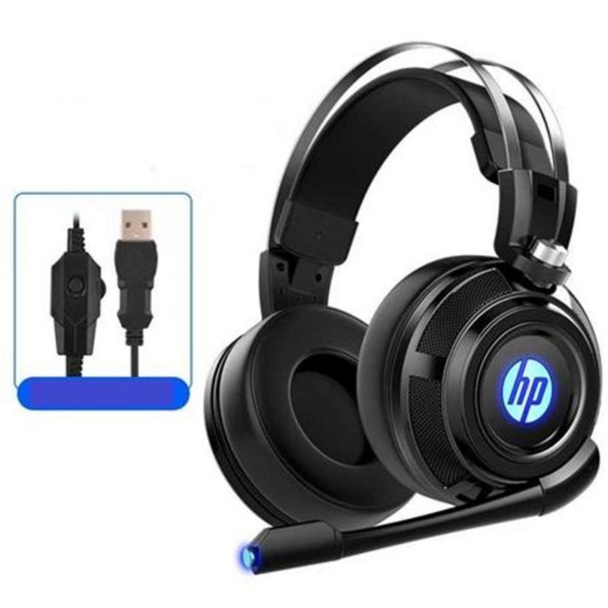 hp auriculares estereo con cable para juegos con microfono 3 1