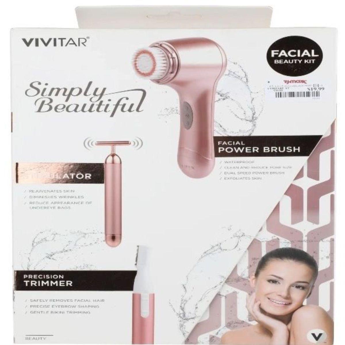 kit de cuidado facial todo en 1 vivitar pg 7820 3 1