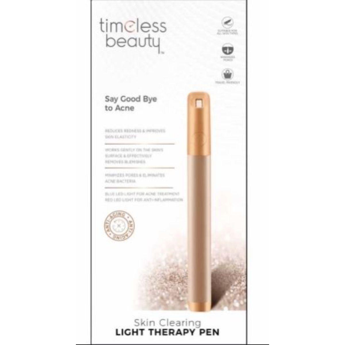 limpiador portatil para acne con terapia de luz 2 1