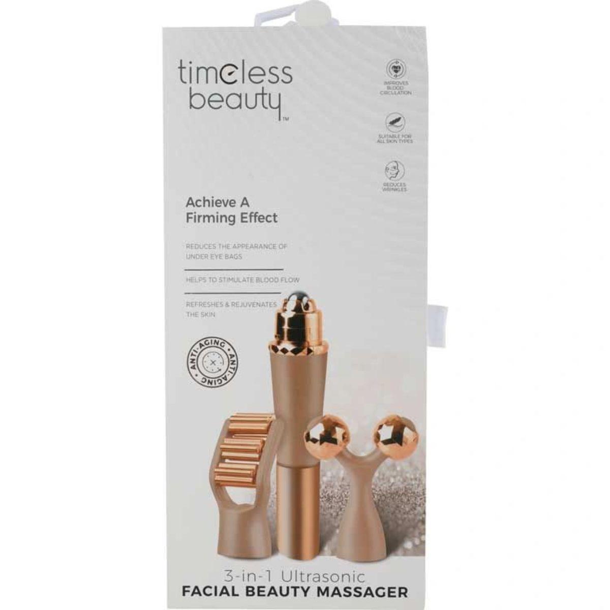 masajeador de belleza facial sonico 3 en 1 2 1