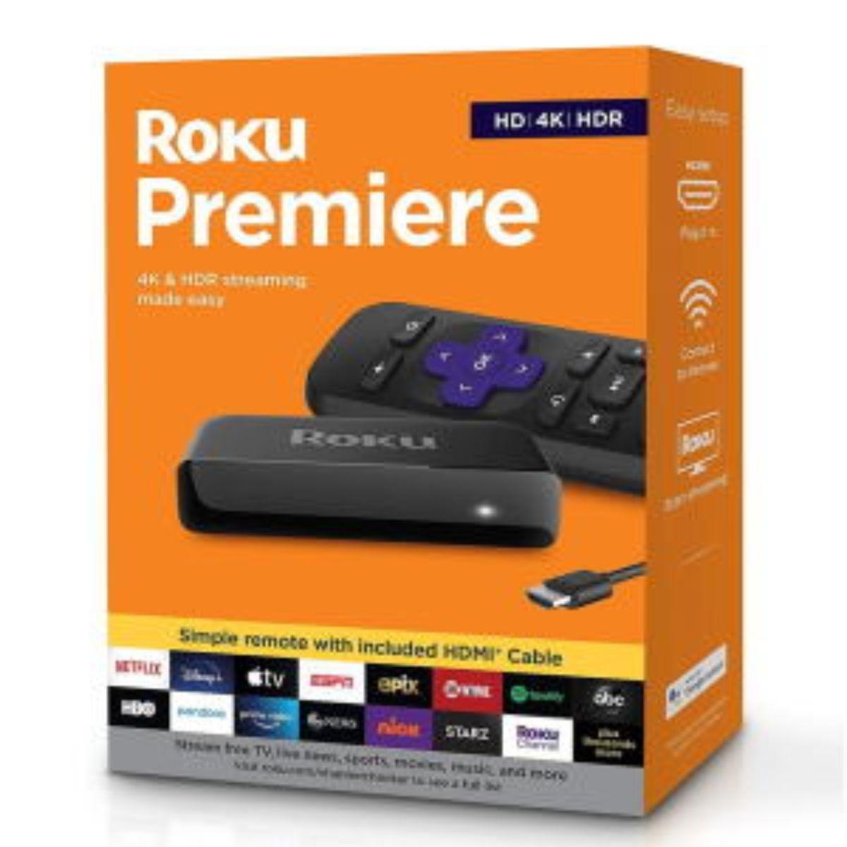 roku premiere reproductor multimedia de transmision hd 4k hdr 1 1