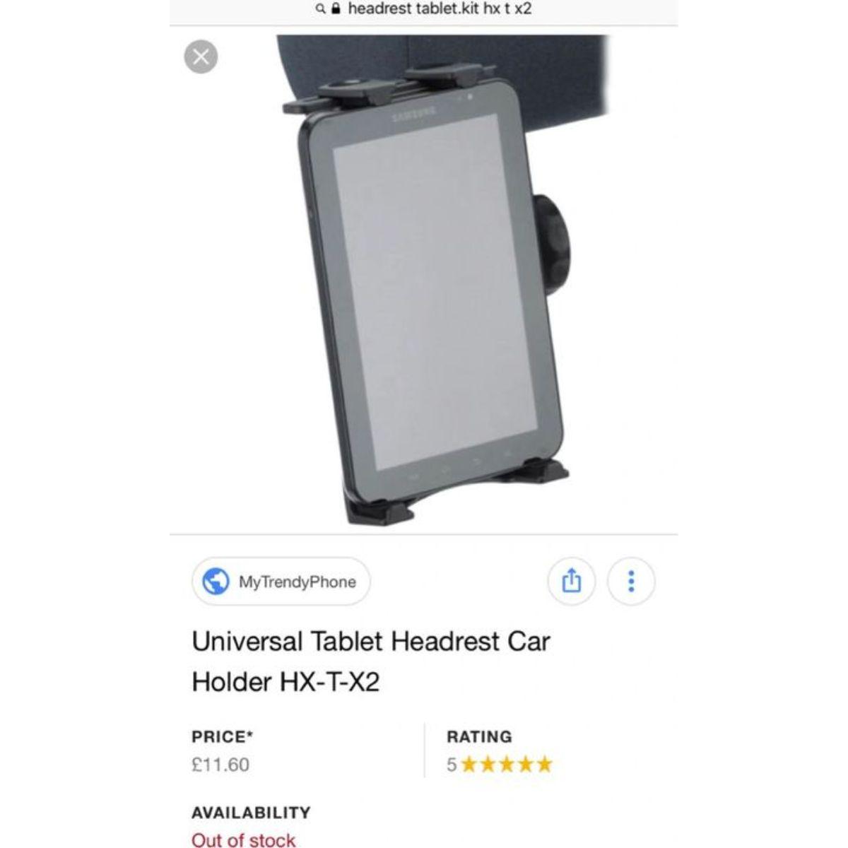 soporte universal para reposacabezas para tableta 3 1