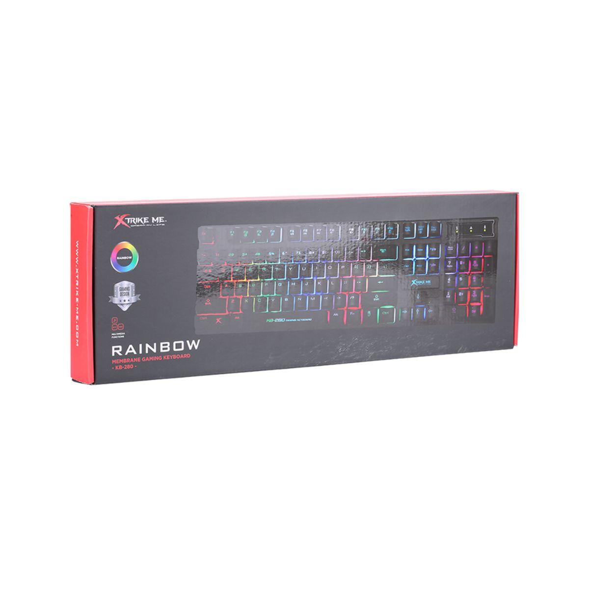 teclado gaming teclas suspendidas xtrike me 1 1