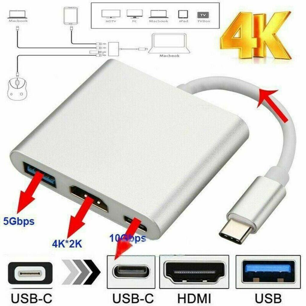 USBC HDMI USB C 3